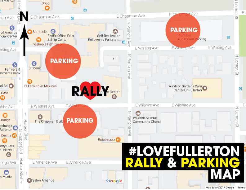Rally Parking Map